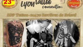 SDP Tattoo à la convention de Lyon les 8 et 9 février 2020