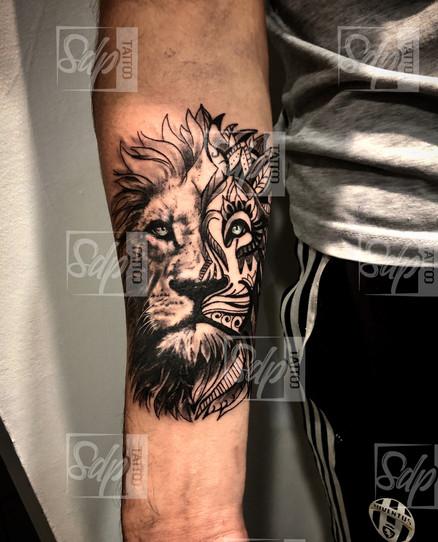 SDP Tattoo - Mandala lion - .jpg