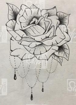 SDP Tattoo - Rose -
