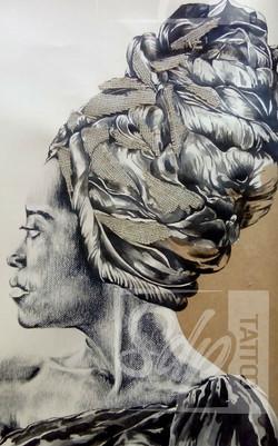 SDP Tattoo - Africaine bis -