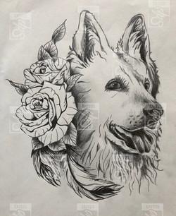 SDP Tattoo - Projet chien -
