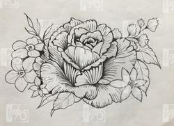 SDP Tattoo - Projet floral -