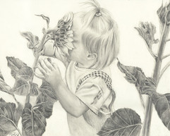 Commissioned piece. Pencil on paper.