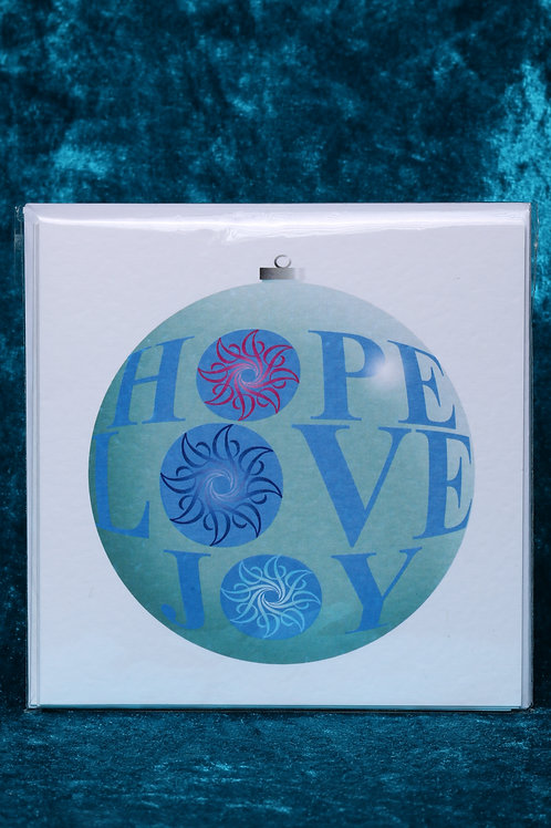 Hope & Love Greeting cards