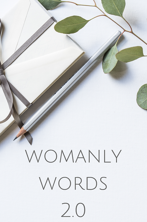 Womanly Words Vol 2 eBook