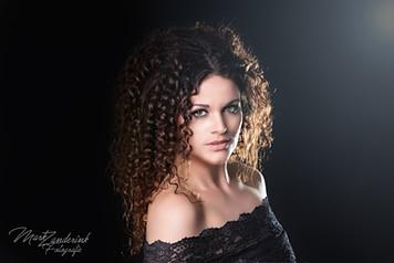 Curly portrait