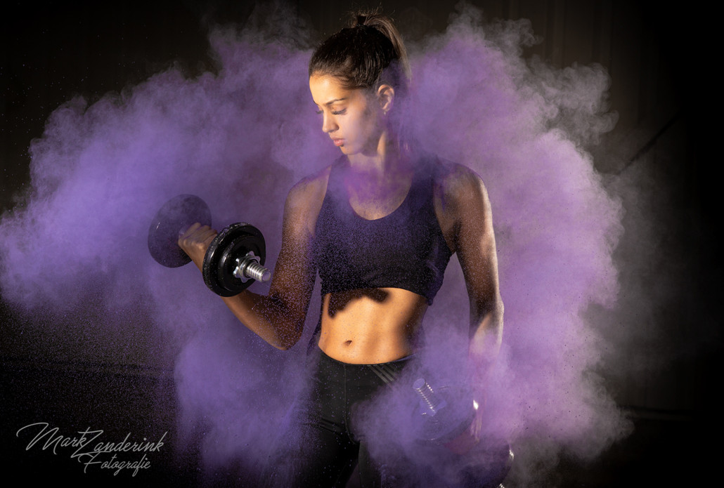 Colorpowder purple