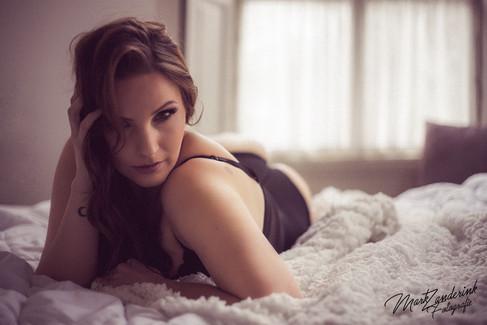 boudoir photoshoot