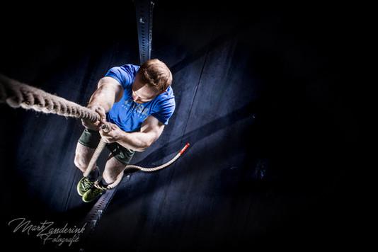Rope climbing/crossfit