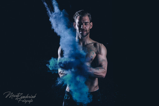 Colorpowder and sport