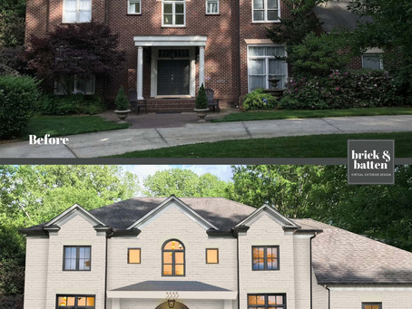 Exterior House Paint Transformations