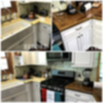 Before & After Kitchen Epoxy Counters
