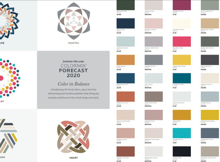 Upcoming Paint Trends for 2020