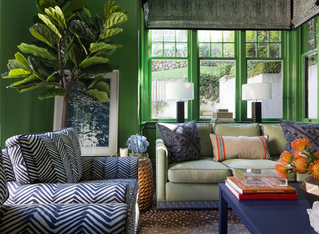 St. Patrick's Day Inspired Paint Colors