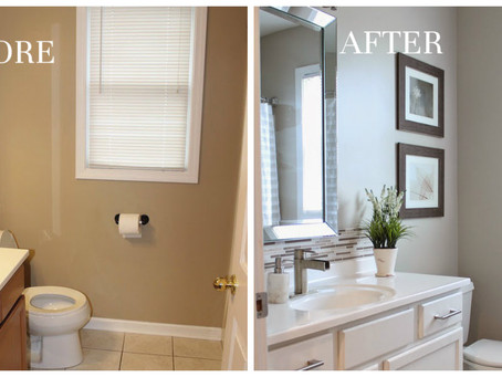 Interior Painting Before & After Transformations