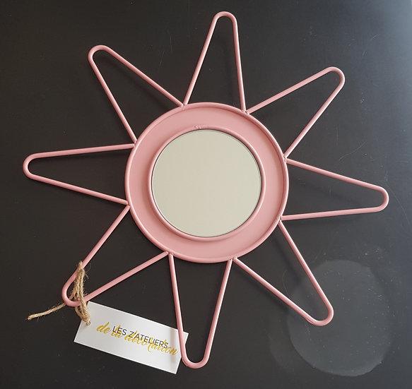 Miroir Solène S Les Zateliers Rose