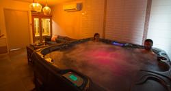 La salle de spa et sauna