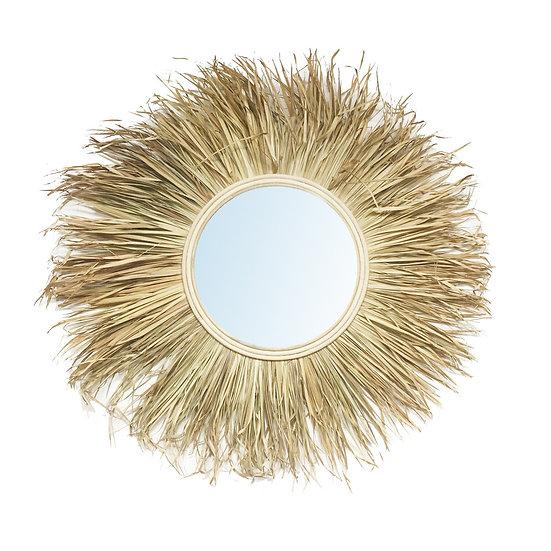 Miroir Herbe - Naturel - L