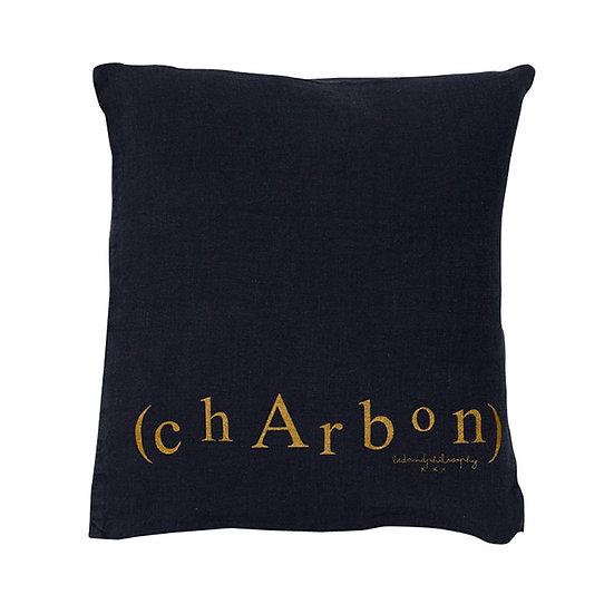 Coussin Charbon