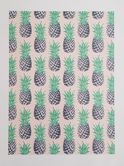 Affiche A4- Ananas
