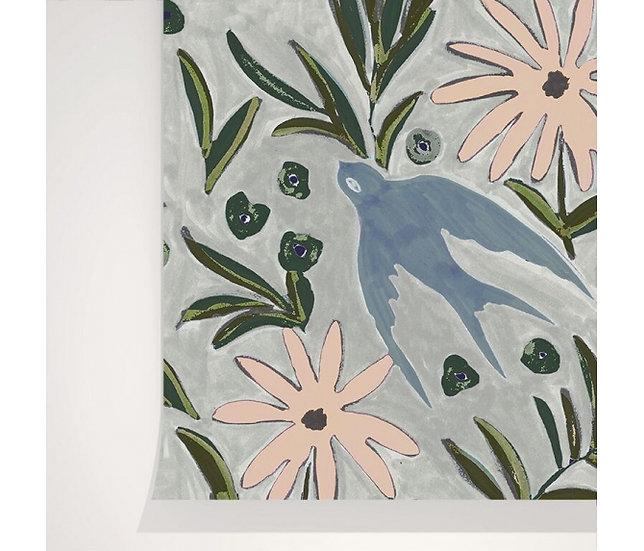 Papier Peint-  Envolée Brume