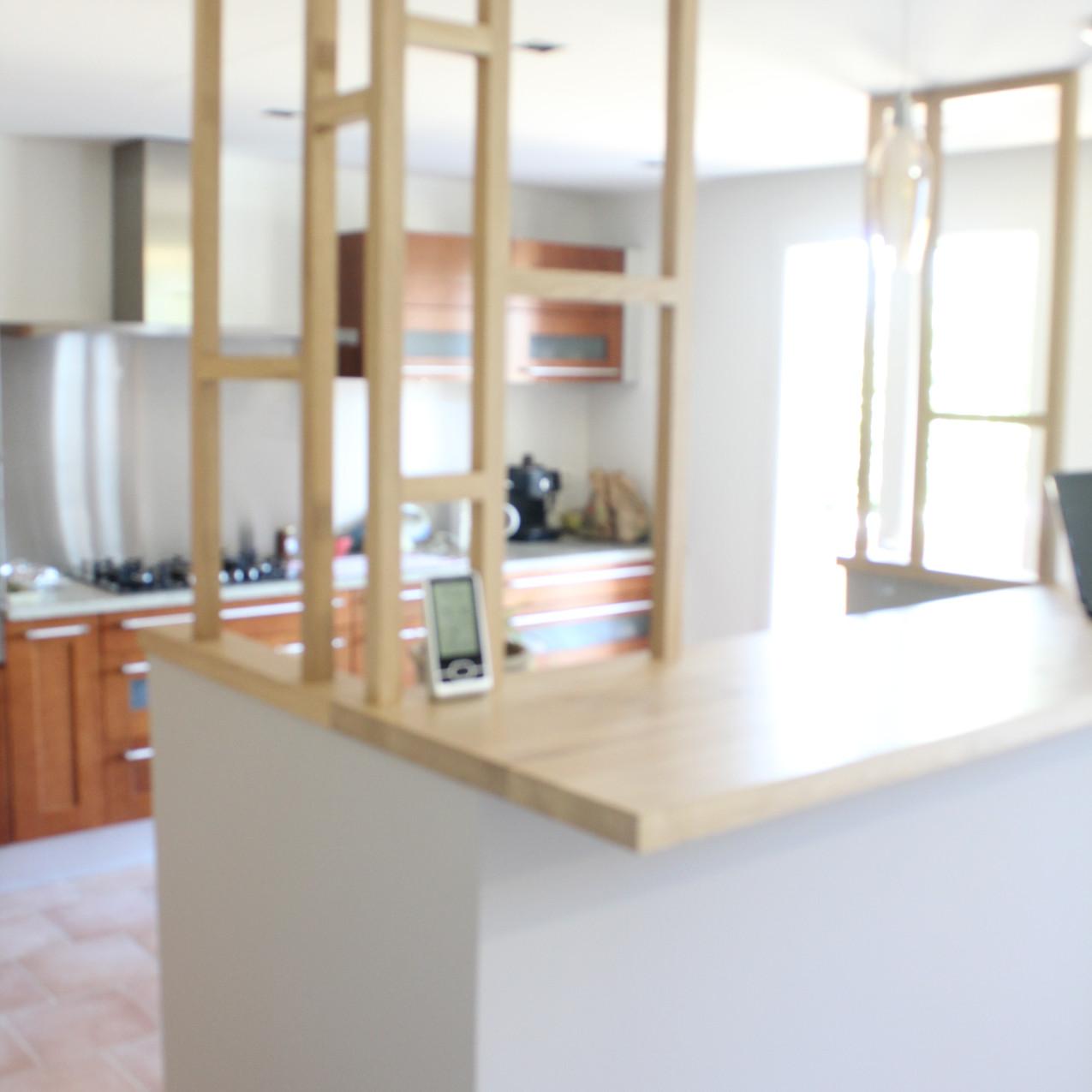 Séparation salle à manger / cuisine