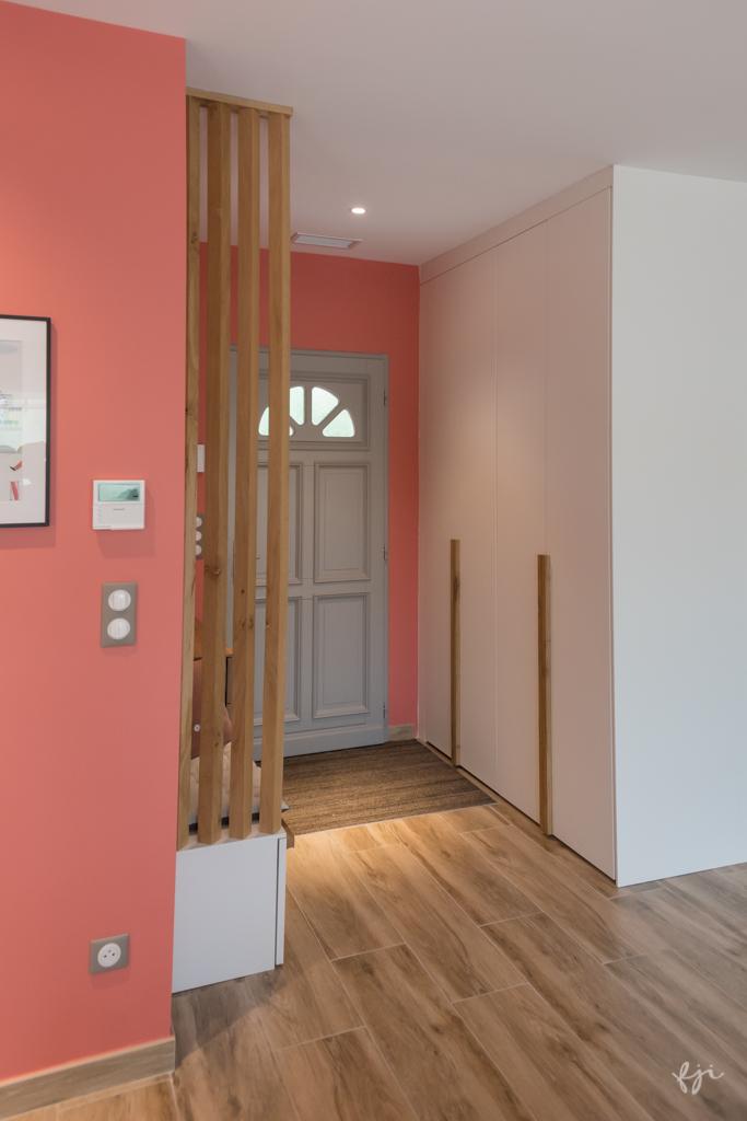 L'entrée et son claustra