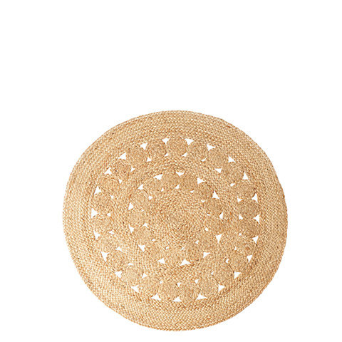 Tapis Rond S nature