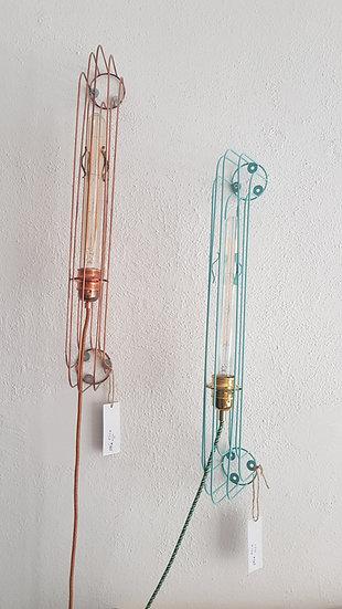 Applique Ramp 60 Zateliers Cuivre ou Vert d'eau