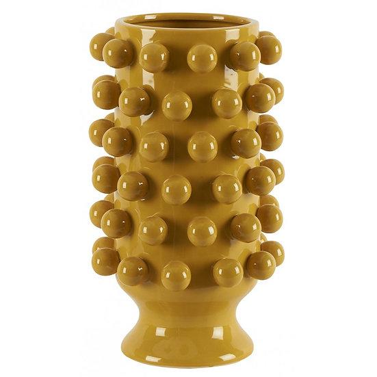 Céramique de Décoration Grappa Moutarde