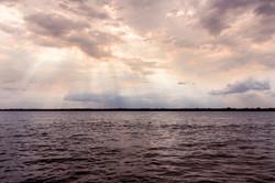 Entardecer no Rio Tocantins