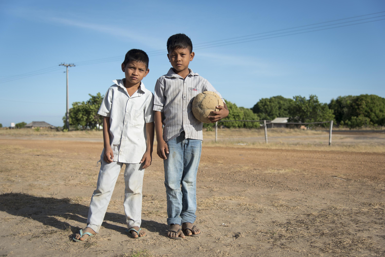 Gente da Terra Indígena do Araçá