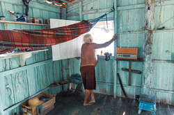 Casa de cultivador de açaí