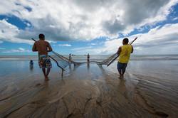 Pescadores em São Miguel do Gostoso