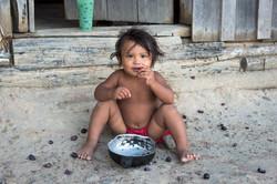 Gente da Terra Indígena Araçá