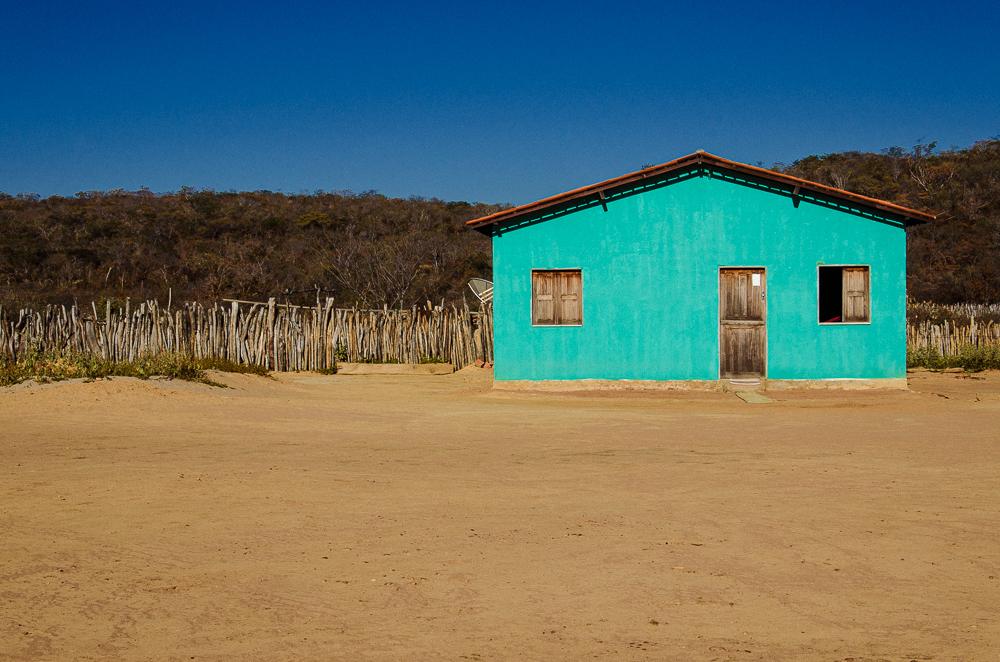 Casa no sertão do Piauí