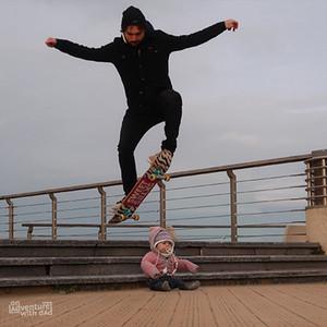 Skate session dad