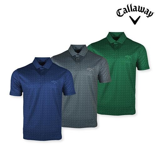 Callaway Polo Shirt 100% Polyester Opti-Soft Fabric