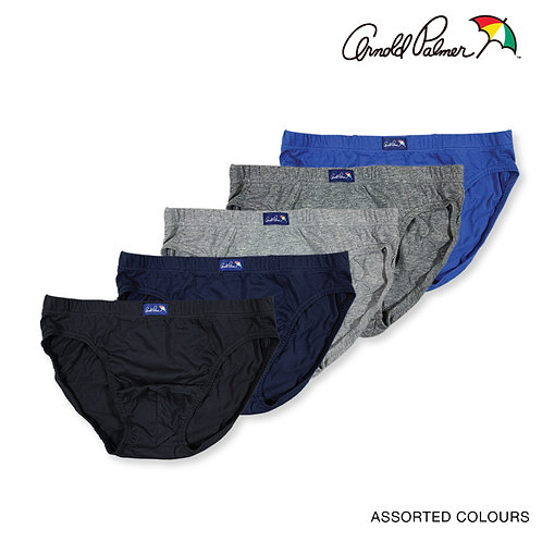 Arnold Palmer 100% Combed Cotton Hipster Briefs