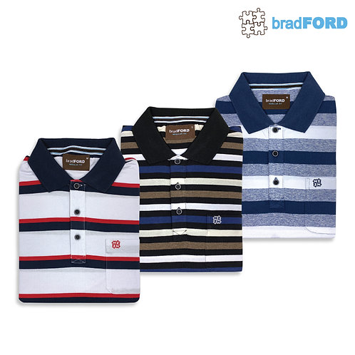 bradFORD Polo Stripes Shirt
