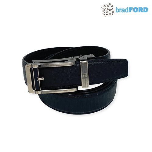 bradFORD Flip Buckle Genuine Leather Mens Belt