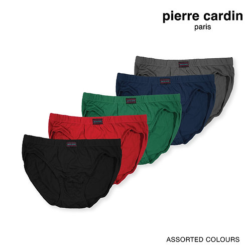 Pierre Cardin 100% Combed Cotton Hipster Briefs
