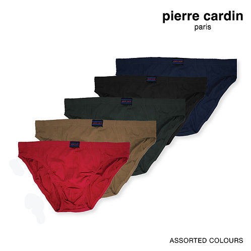 Pierre Cardin 100% Combed Cotton Tanga Briefs