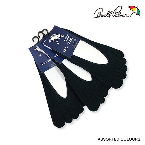 ARNOLD PALMER 3 pairs Toe Socks pack