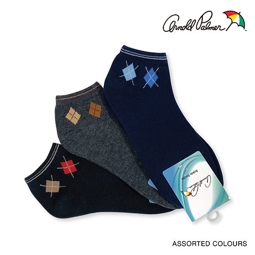 ARNOLD PALMER 3 pairs Ankle Socks pack