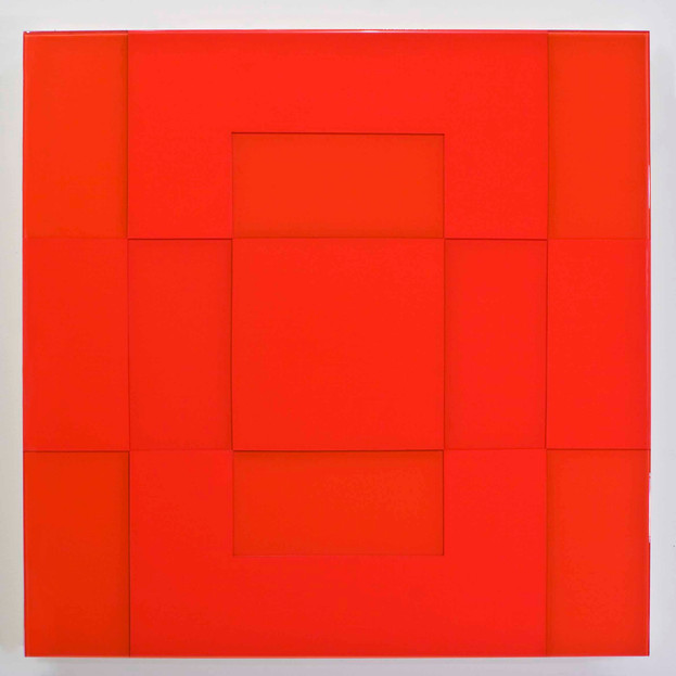 Cad Red Solid Grid