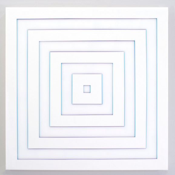 Purple and Blue Square