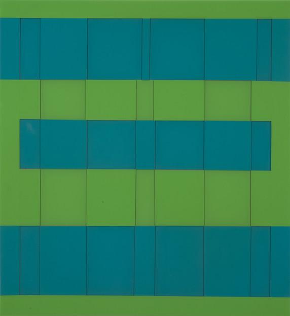 Sap Green Blue Gird