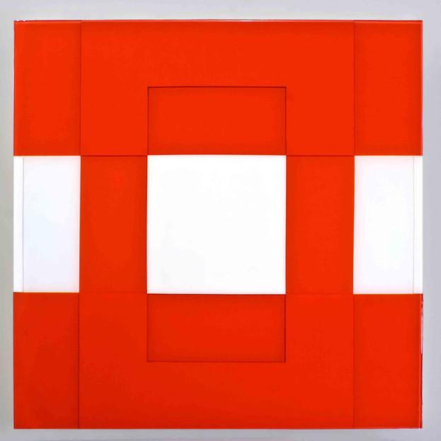 Cad Red Wht Grid I