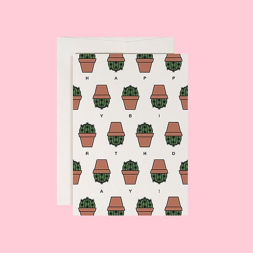 Klappkarte / Cactus / DIN A6